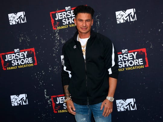 "Paul 'Pauly D' DelVecchio arrives at the LA Premiere of ""Jersey Shore Family Vacation"" on Thursday, March 29, in Los Angeles. (Photo by Willy Sanjuan/Invision/AP)"