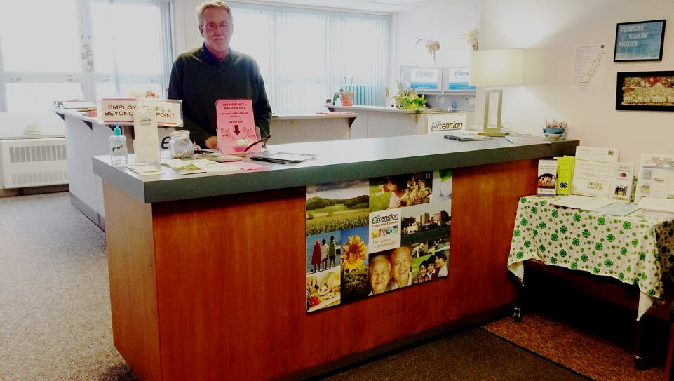 Door County UW-Extension Department Director Rob Burke