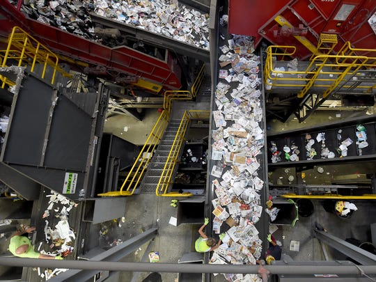 """We were aware that China was going to be doing something,"" said April Annas, Penn Waste's materials marketing coordinator. ""We just didn't think they'd be this drastic and actually stick with it. But it's business as usual. We take it in, we process it, we sell it. That's our goal."""