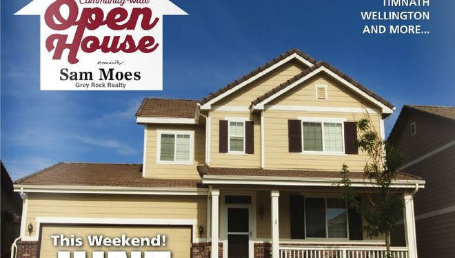 Northern Colorado homes for sale Community Wide Open House event, June 26-28, 2015.
