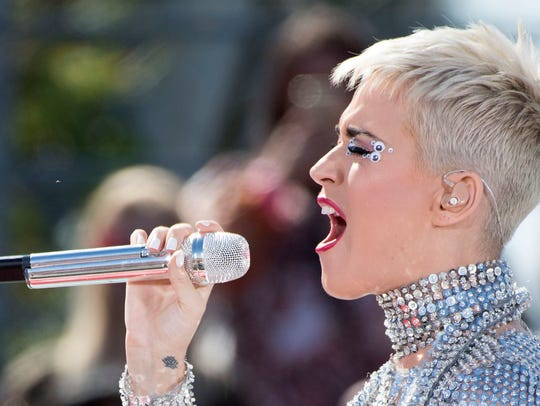 Katy Perry has worn the pixie look this summer.