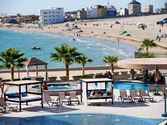 Penasco Del Sol Hotel over looks the Sea of Cortez