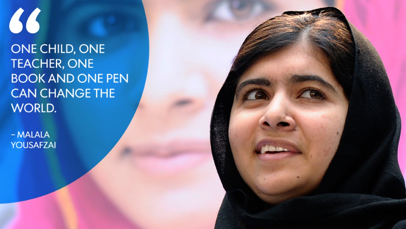 Quotes From I Am Malala I Am Malala Nobel Peace Winner's Quotes