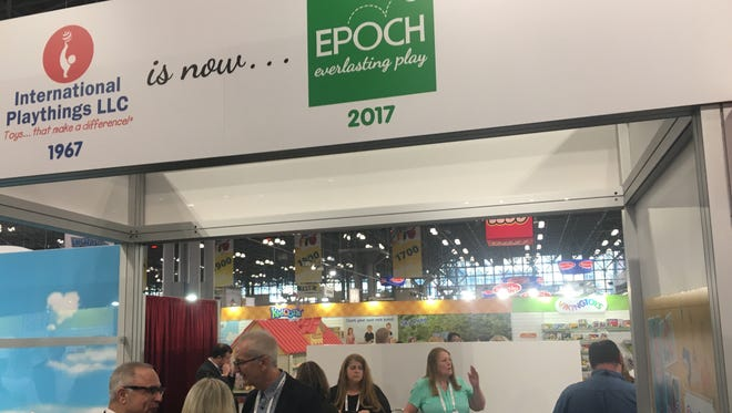 International Playthings, of Parsippany,  announced its new name, Epoch Everlasting Play, at Toy Fair.