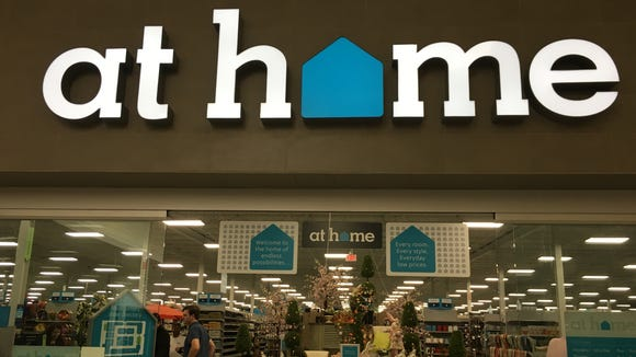 Home decor superstore At Home opened Wednesday inside the former Sears spot in Eastdale Mall.