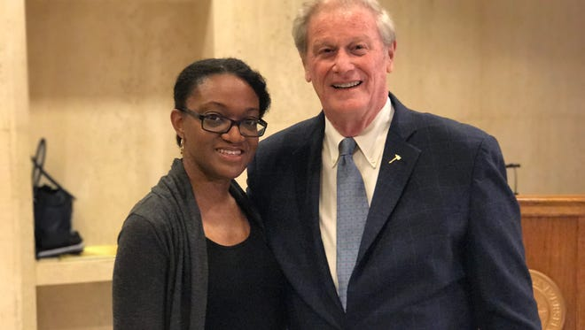lorida State University Student Genevieve Bell, who is earning a doctorate in neuroscience, said she would have never been able to pursue an education if it wasn't for financial assistance.