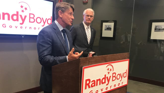 Shelby County Mayor Mark Luttrell on Wednesday endorsed Randy Boyd in the Tennessee gubernatorial Republican primary election.