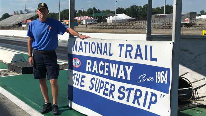 Steve Long was named general manager of National Trail Raceway in June.