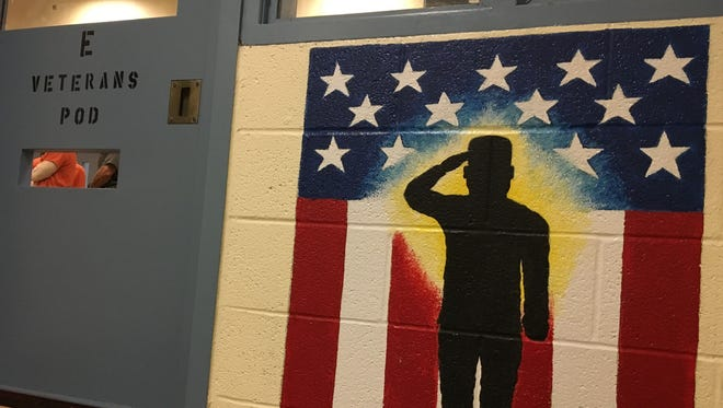 York County Prison began offering a veteran-specific housing unit in early October 2017. (Photo courtesy of Mark Walters)