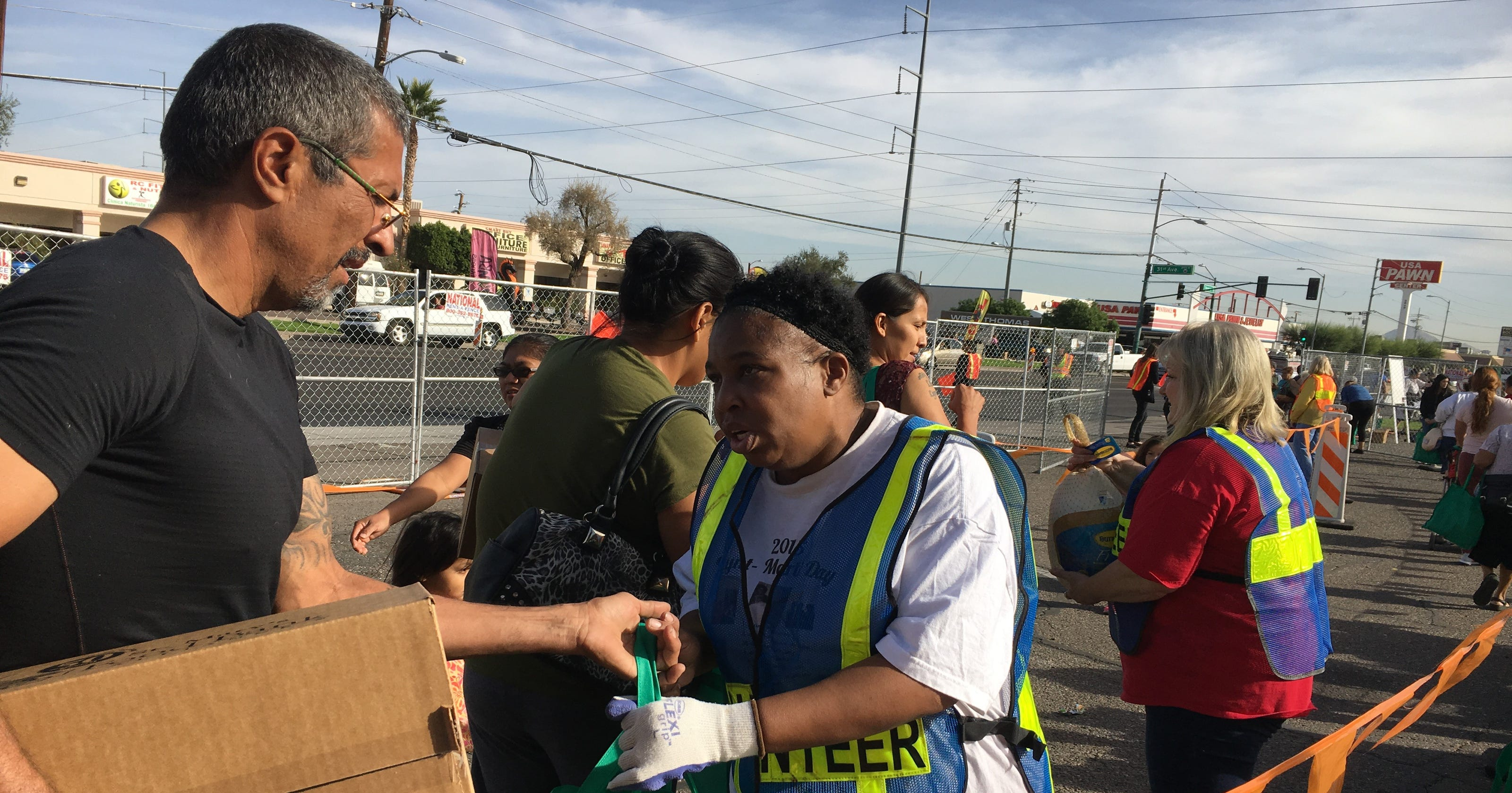St. Mary's Food Bank 1,500 turkeys away from Thanksgiving ...