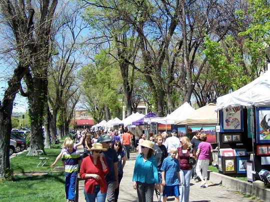 The 67th annual Prescott Arts & Crafts Festival is this weekend on Courthouse Plaza downtown.