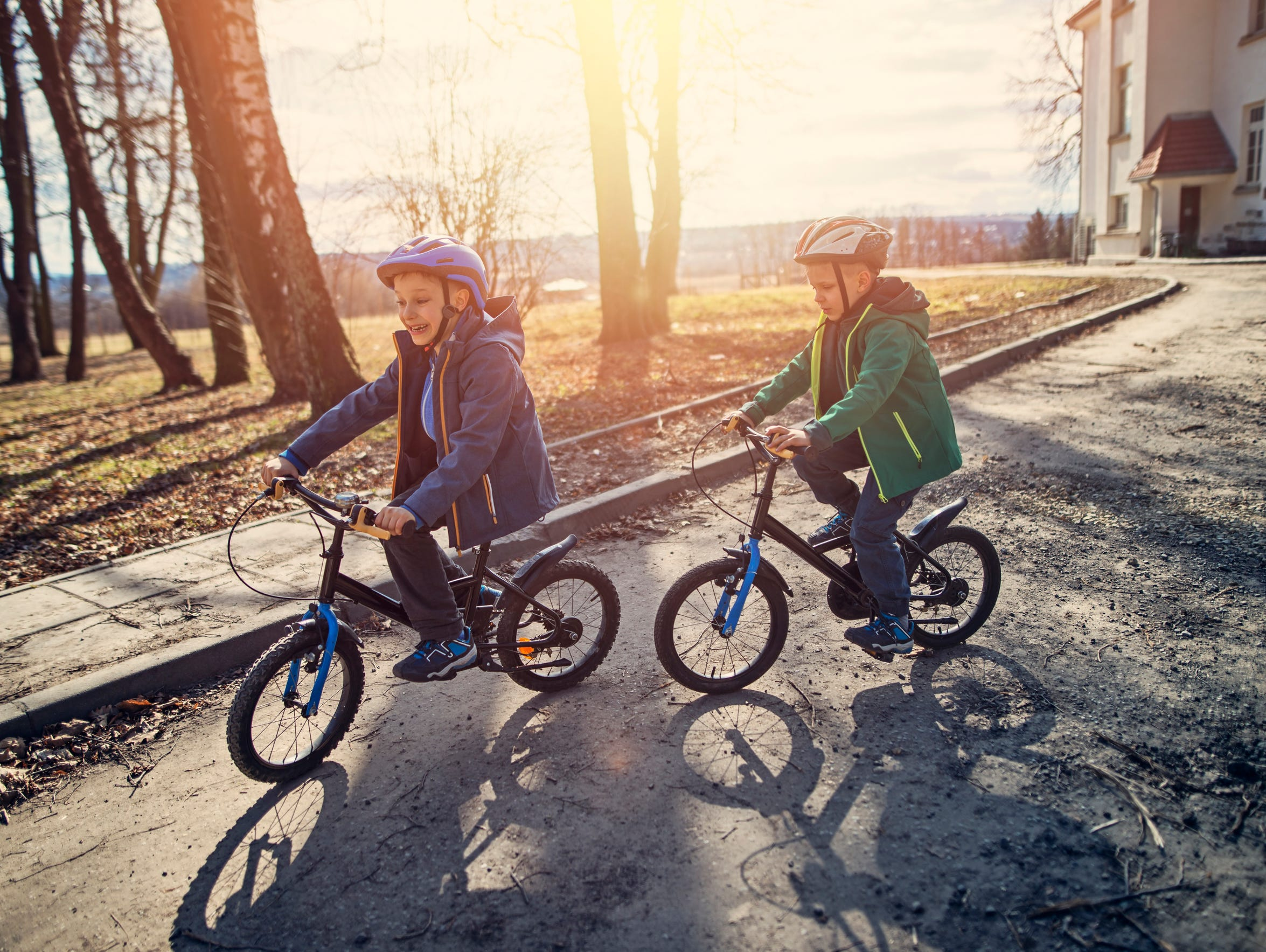 When buying a bicycle, or anything with wheels, be sure to buy a helmet to go with it, said Jamie Michael, director of Doña Ana County's Health and Human Services Department.