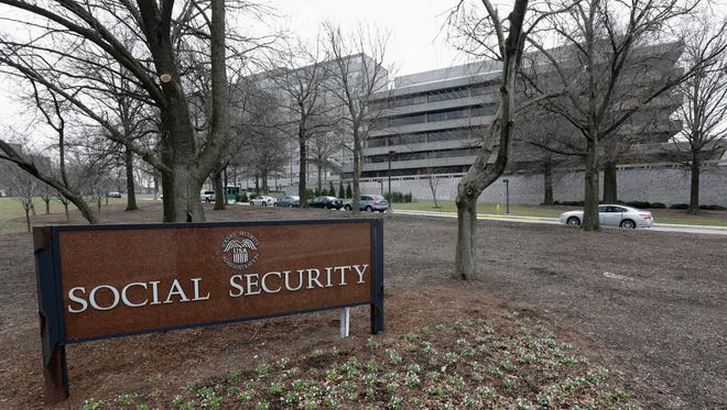 This Jan. 11, 2013, photo shows the Social Security Administration's main campus in Woodlawn, Md.