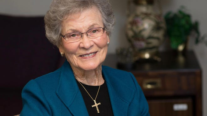 Ruth Merillat, co-founder of the Merillat Woodworking Co. and Lenawee Christian Ministries with her late husband, Orville, died Wednesday in Charlevoix. She was 99.