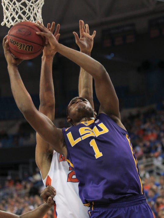 NCAA Basketball: Louisiana State at Florida