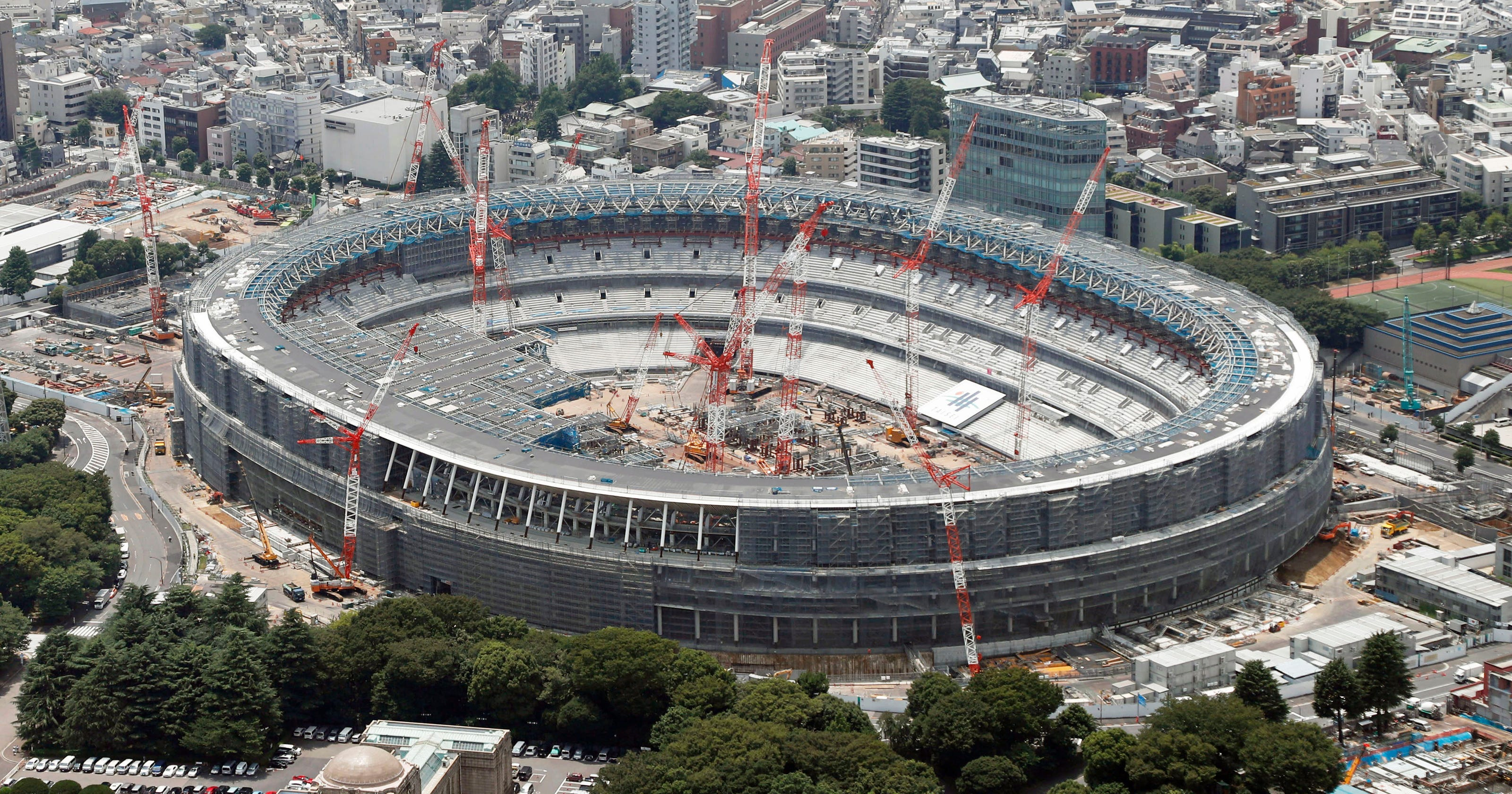 1bace7a2a30e Cost of 2020 Tokyo Olympics ceremonies up 40 percent