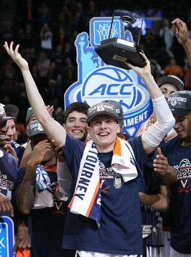 Virginia, ACC champion. No. 1 seed in South.