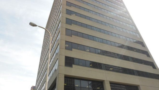 The Citizens Plaza office building at 400 Deaderick St.