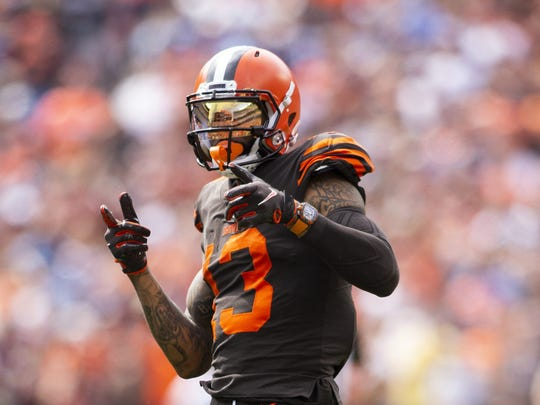 Odell Beckham returns to MetLife Stadium on Monday night as a member of the Browns. Cleveland takes on the Jets.