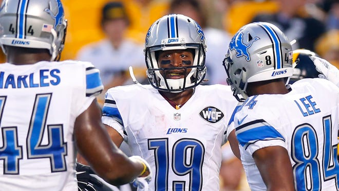 Detroit Lions wide receiver Andre Roberts.