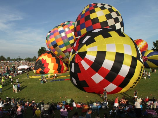 The visually stunning Michigan Challenge Ballonfest is a four-day event in Howell.