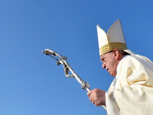 EPA EPASELECT SRI LANKA POPE FRANCIS VISIT REL RELIGIOUS INSTITUTIONS LKA