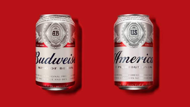 Budweiser wants you to grab a can of 'America' this summer.