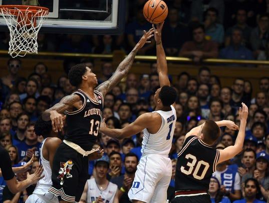 NCAA Basketball: Louisville at Duke