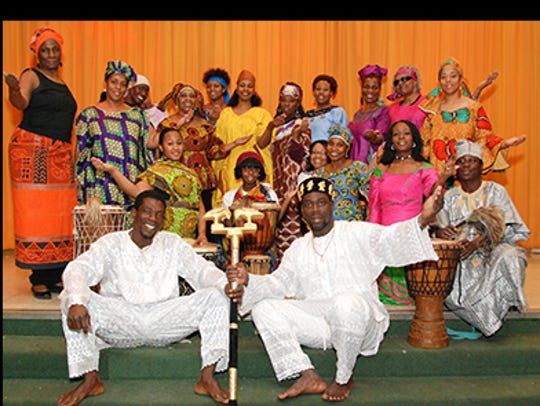 Nazu frican Dance Company will perform Feb. 14 at the