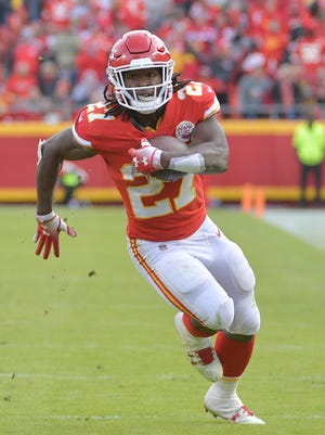 The Chiefs released Kareem Hunt on Friday.