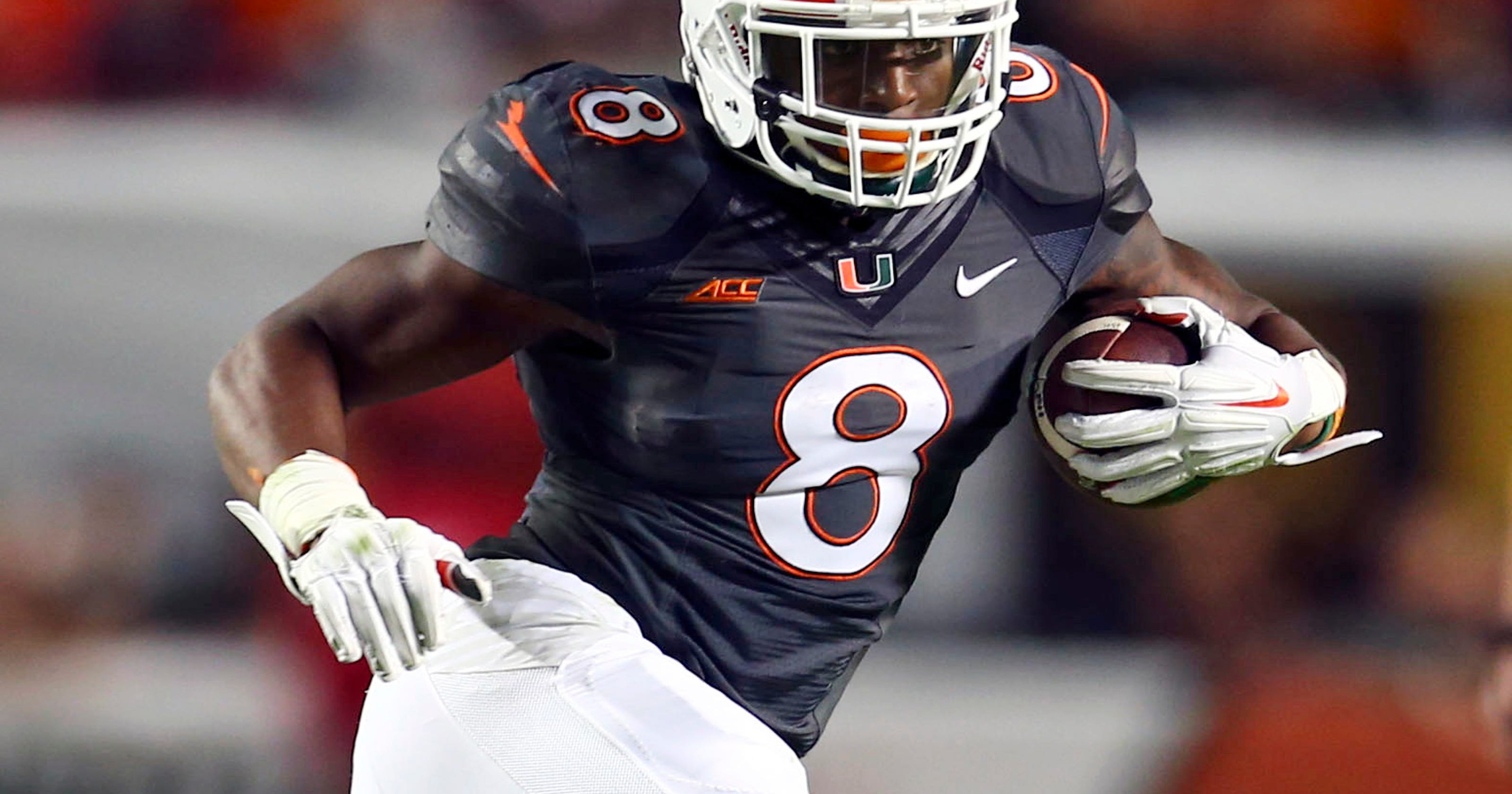 a6c81d87a7d1 Film review  Miami RB Duke Johnson would complement Lions well