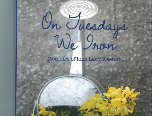 """Cover of the book """"On Tuesday's We Iron."""""""