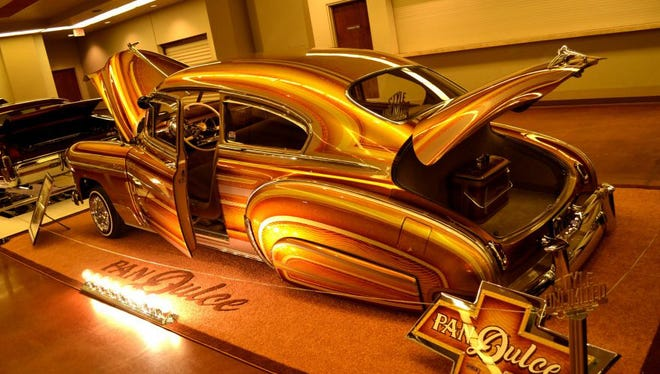 The Pan Dulce lowrider from the Arizona Super Show.