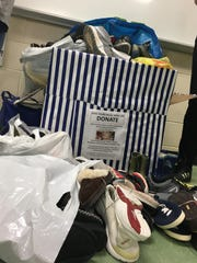 Youth United Way Club at North Rockland High School, Tappan Zee High School and Clarkstown South High School are holding a shoe fundraising drive is being held at the three schools and three public locations.
