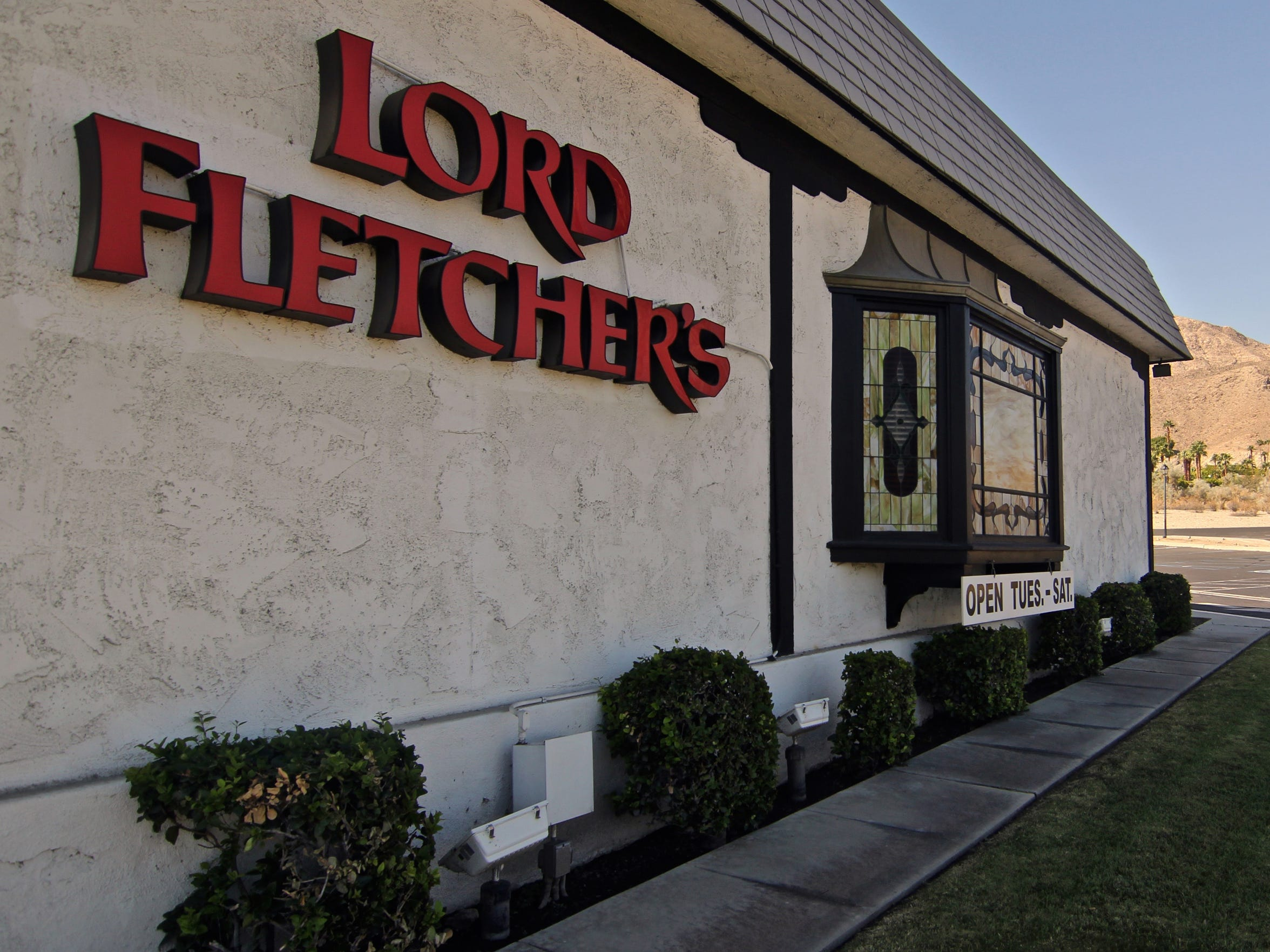 Lord Fletcher's, 70385 Highway 111, Rancho Mirage.