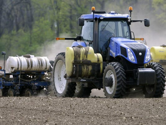 Wet Fields Delay Planting Us Farm Income Could Be Lowest Since 2006