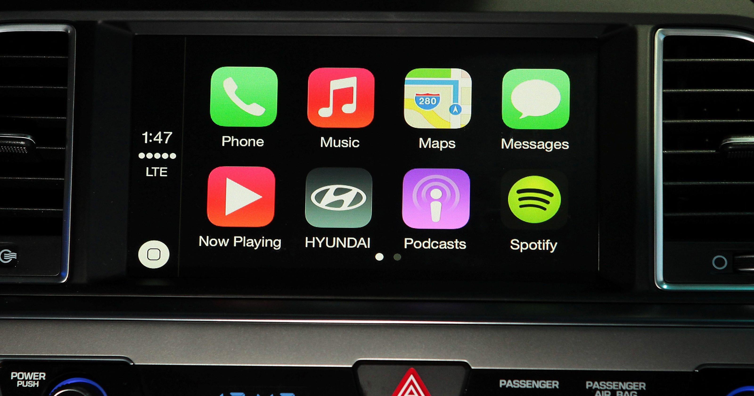 Hyundai promises Apple CarPlay in Q1 2016, at a price