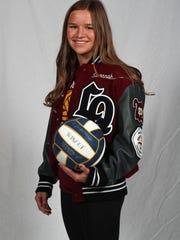 La Quinta High School girls water polo star Savannah Hampton.