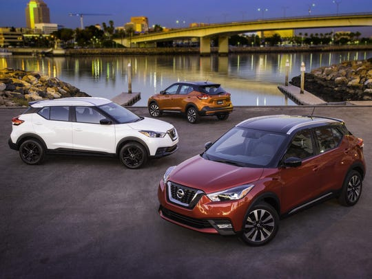 The all-new 2018 Nissan Kicks, the newest entry in