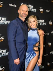 "David Ross and Lindsay Arnold on Episode 9 of ""Dancing"