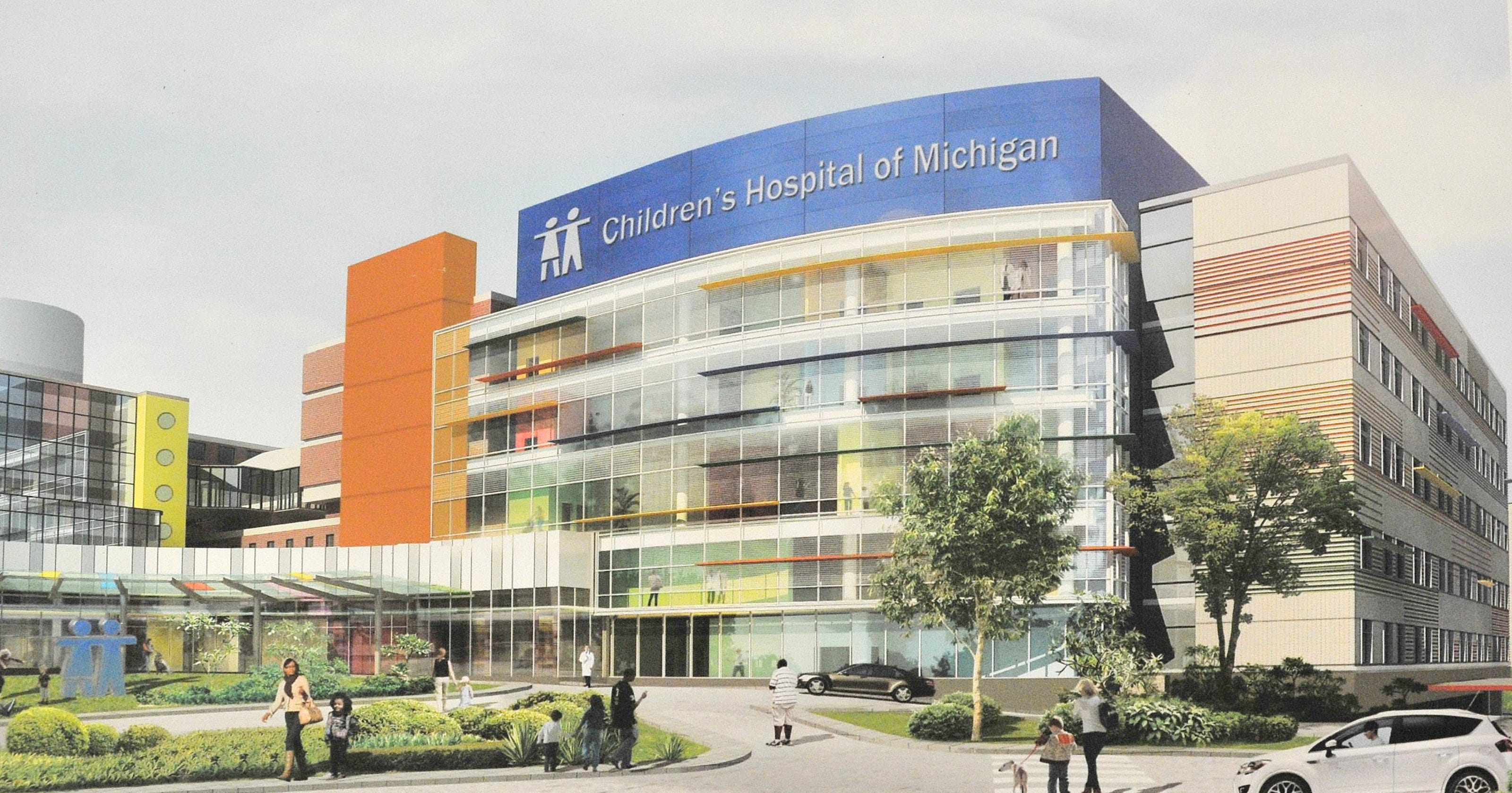 DMC's pediatrics tower to have large private rooms