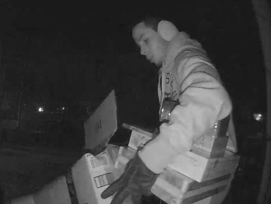 Package theft Dec. 2017
