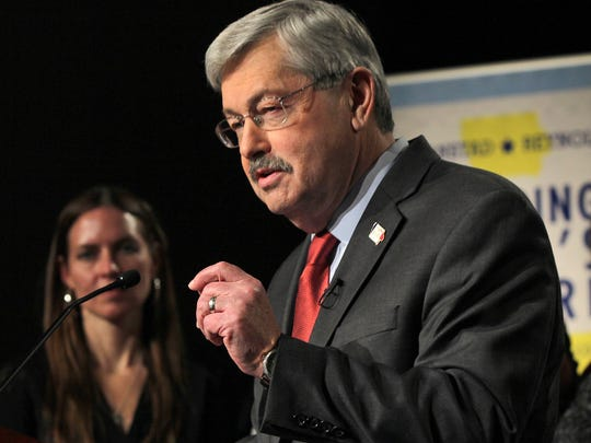 Iowa Gov. Terry Branstad has the distinction of being the longest-serving governor in U.S. history. Prior to his initial ascent to the governor's mansion, he was elected to the Iowa House of Representatives in 1972.