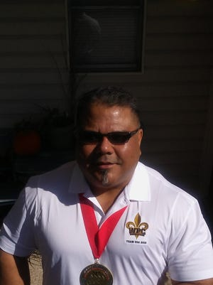 Corpus Christi resident David Martinez won 275-pound weight class title in the raw benchpress category at the World Powerlifting Congress meet in Baton Rouge, Louisiana in November. Martinez benched 479 pounds to win the gold medal. The event featured competitors from 46 different nations.