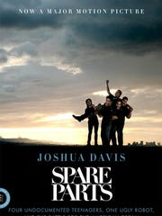 """Spare Parts"" by Joshua Davis is the first selection"
