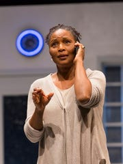 "Suzzanne Douglas in ""American Son"" at George Street Playhouse."