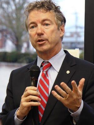 Kentucky Sen. Rand Paul.