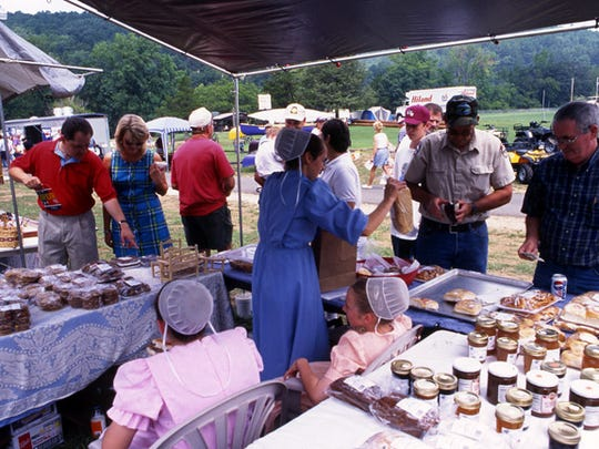 Crafts, food, music and a good time can be found at the Buffalo River Elk Festival at Jasper.