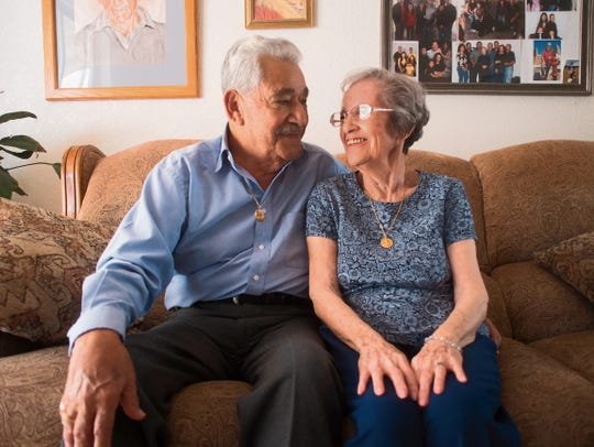 Roger and Ofelia Kirker say its a miracle that a wedding