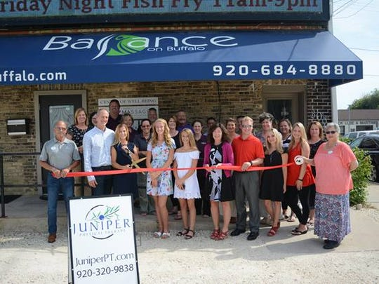A ribbon-cutting ceremony was held July 19 at Juniper